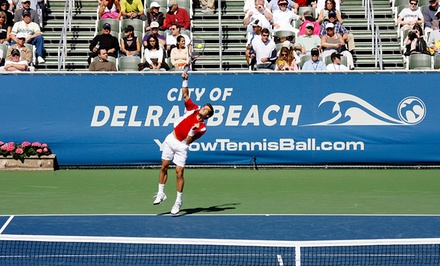 $20 for One Ticket to Delray Beach Open by The Venetian Las Vegas on February 14, 15, 17, or 18 ($36.50 Value)