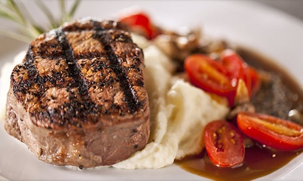 Fine Dining at Deep Fork Wood Grill & Seafood (Up to 50% Off)