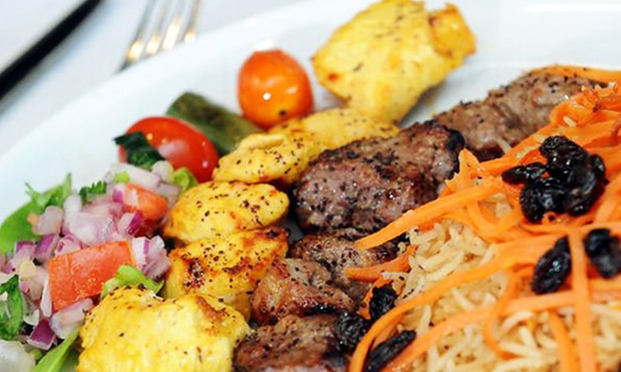 Afghan food afghan kabob house groupon for Afghan kabob cuisine