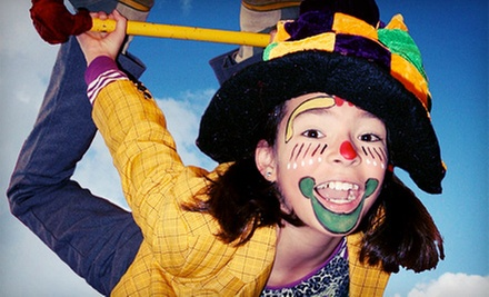 Five-Day Kids' Circus Camp at Cirque Amongus (52% Off). 12 Options Available.