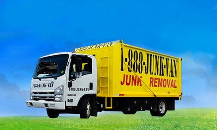 $35 for Up to 250 Pounds of Junk Removal Plus Labor, Transportation and Disposal Fee ($152.50 Value)