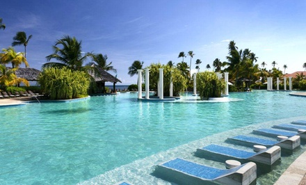 groupon daily deal - 3-, 4-, or 5-Night Stay for Two with Breakfast at Gran Meliá Golf Resort Puerto Rico. Combine Up to 15 Nights.