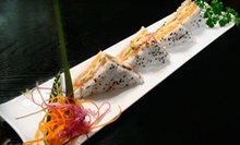 Three-Course Sushi Dinner for Two or Four with Appetizers, Desserts, and Beer at Sawa Sushi (Up to 58% Off)