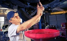 Oil-Change Package or Oil-Change With Lifetime Tire-Protection Plan at Lee's Summit Mitsubishi (Up to 89% Off)