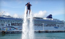 25-Minute Water-Propelled Jet-Pack Experience on a Weekday or Weekend from Rocketman (Up to 46% Off)