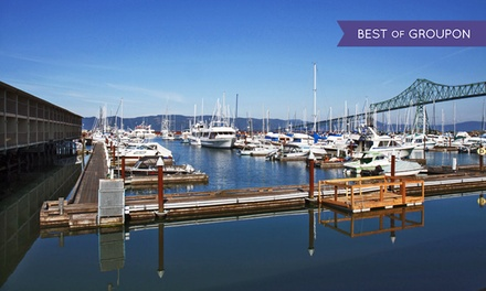 1- or 2-Night Stay for Two in a King Balcony Room with Museum Passes at Astoria Riverwalk Inn in Astoria, OR