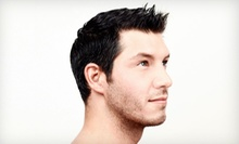 $15 for a Mens Haircut with Shampoo and a 15-Minute Electronic Chair Massage at Lanas Barber Shop ($25 Value)