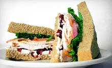 $10 for $20 Worth of Sandwiches, Salads, and Baked Goods at House of Bread