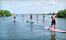 Paddleboard Lesson with One or Two Hours of Paddling at Siesta Key Paddleboards (Up to 68% Off)