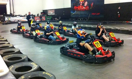 Two Same-Day Go-Kart Races for Two or Four at Fast Lap-Las Vegas (Up to 61% Off)