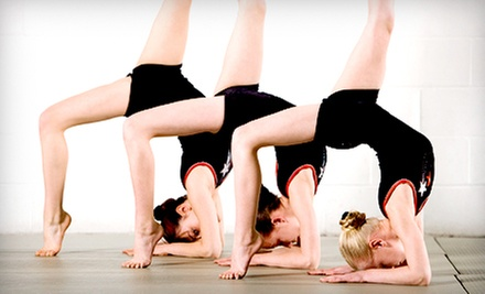 $25 for One Month of Gymnastics Classes at Tilton's Gymnastics ($60 Value)