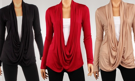 Women's Criss-Cross Cardigan
