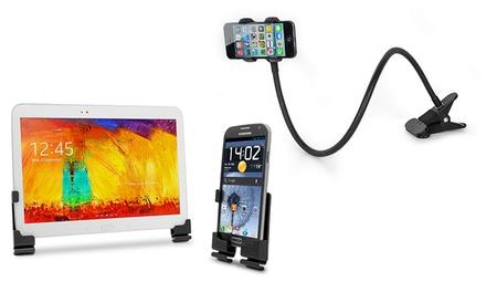 Suporte adesivo de parede ou de braço para smartphones por 14,90€