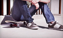 One-Hour Skateboarding Lesson or $25 for $50 Worth of Skateboarding Gear at Blank Skate + Snow