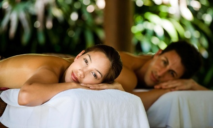 60-Minute Couples Massage and Sauna Session from bodyworx Day Spa & Salon (50% Off)