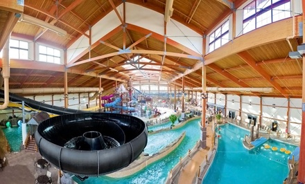 Stay with Optional Water-Park Package at Fort Rapids Waterpark Hotel & Conference Center in Columbus. Dates into June.