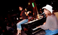 Dueling-Piano Show and Pizza for 2, 4, 8, or 12 on Friday or Saturday at Louie Louie's Piano Bar (Up to 67% Off)