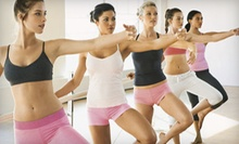 Two Barre Fitness Classes or One Month of Unlimited Prenatal/Postpartum Classes at Flex + Fit (Up to 70% Off)