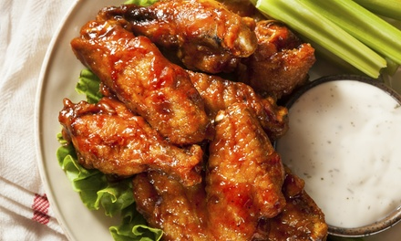 $12 for $20 Worth of American Grill Fare at The Rush
