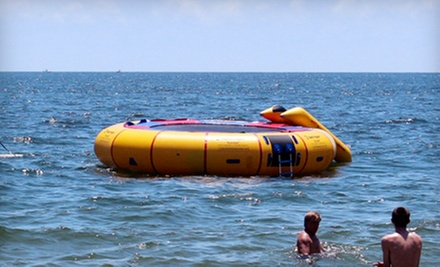 $39 for a 30-Minute Water-Trampoline Session for Five at On the Beach Watersports ($100 Value)