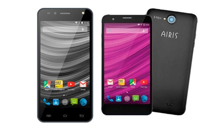Smartphone Airis TM55S de 5,5' ou TM45L de 4,5' com 4G por 109€