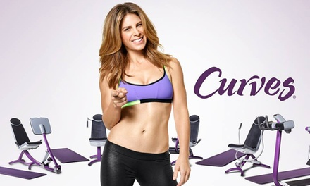 10 or 20 Gym Visits at Curves (Up to 72% Off).