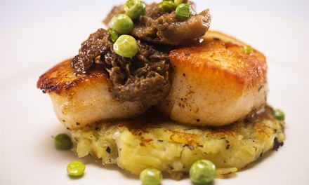 $39.50 for an Upscale American Dinner for Two at Bistro Ten 18 (Up to $88 Value)