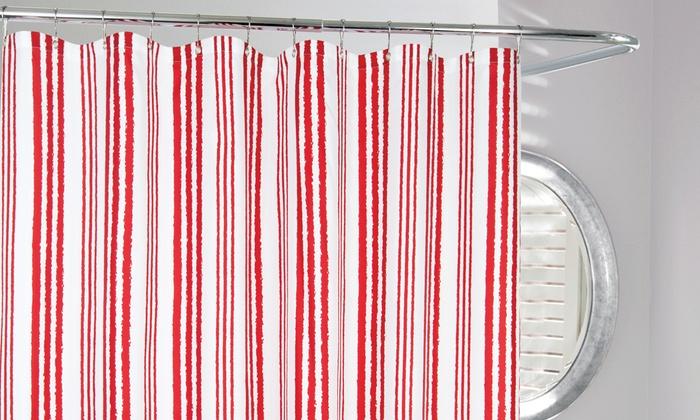Cabana stripe shower curtain 2