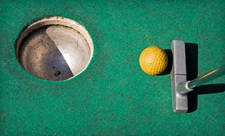 One Round of Mini Golf for Two or Four with Batting Cage Tokens at Oasis Sports Park (Up to Half Off)