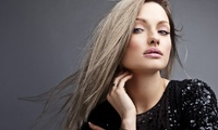 Cut and Style with optional Partial Highlights, Full Color, or Keratin Treatment at Studio Hair Design (Up to 53% Off)