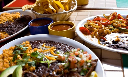 Dinner and Jumbo Margaritas for Two or Lunch for Two at Casa Don Juan (Up to 41% Off)