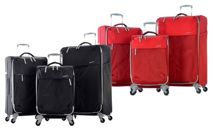 Olympia Swift 3-Piece Lightweight Expandable Spinner Luggage Set