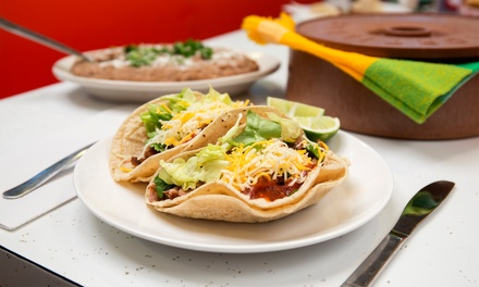 Mexican Food at           Las Fuentes (Up to 50% Off)