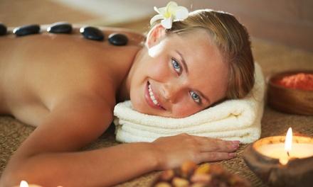 Stetic4u — Benfica: massagem a dois de pedras quentes ou velas com banho manual de toalhas fumegantes por 29,90€