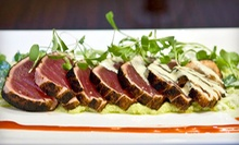 Upscale Contemporary American Cuisine and Drinks for Two or Four at Tantra (Up to 55% Off). Two Options Available.