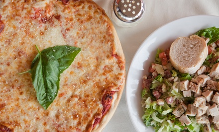 One or Two Groupons, Each Good for $20 Worth of Pizzeria Food and Soft Drinks at Soprano's (Up to 53% Off)