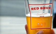 Brewery Tour and Tasting with Souvenirs for Two or Four at Red Brick Brewing Company (Up to 58% Off)