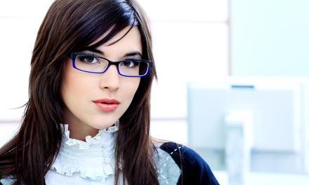 Complete Pairs of Glasses with Optional Exam, or 5-Year Membership at Philadelphia Eyeglass Labs (Up to 93% Off)