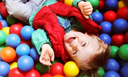 Indoor-Playground Session for Two or Three Kids at Kidz Funland (Up to 60% Off)
