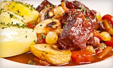 French Dinner Cuisine at Mimosa Restaurant (Up to 53% Off). Two Options Available.