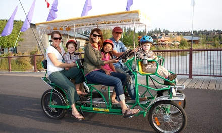 $16 for $30 Worth of Bicycle, Surrey, Pedal Boat, or Kayak Rental at Wheel Fun Rentals