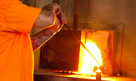 Weekday or Weekend Glassblowing Class at Glass Academy (51% Off)