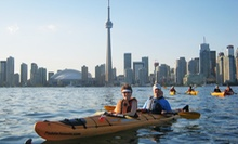 C$65 for a Three-Hour Kayak Tour of the Toronto Islands for One from Harbourfront Canoe and Kayak Centre (C$145.77 Value)
