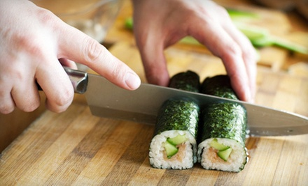 $40 for a Two-Hour Sushi-Making Class at Wabora Fusion Japanese Restaurant ($100 Value)