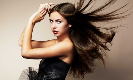 Blowout or Haircut and Highlights Package from Brooke Ferrantello at Fringes Studio Salon and Spa (Up to 52% Off)