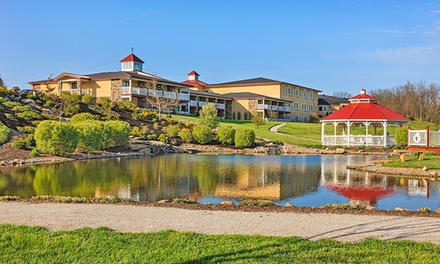 groupon daily deal - 1-Night Stay for Two at Berlin Resort in Holmes County, OH. Combine Up to 5 Nights.