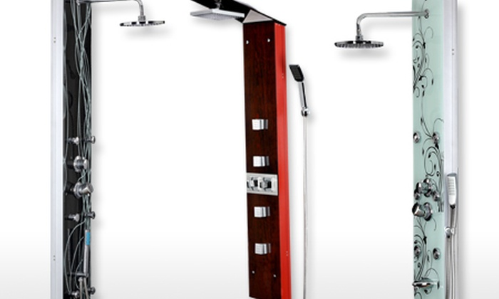 Groupon goods global gmbh deal du jour groupon - Colonne de douche massante ...