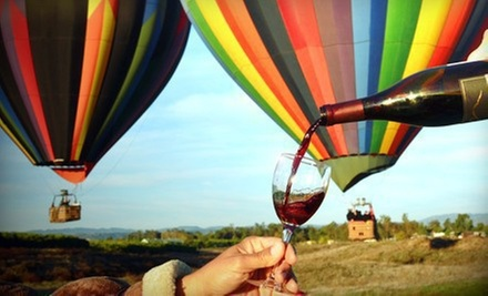 Hot Air Balloon Ride or Wine Tour for Two on a Weekday or Weekend from Sunrise Balloons (Up to 55% Off)