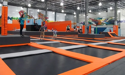 $18 for Two One-Hour Jump Sessions at Flight Trampoline Park ($26 Value)
