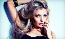 One, Three, or Five Blow-Dry Sessions or One Haircut and Deep-Conditioning Treatment at SanOlvi Beauty (Up to 69% Off)